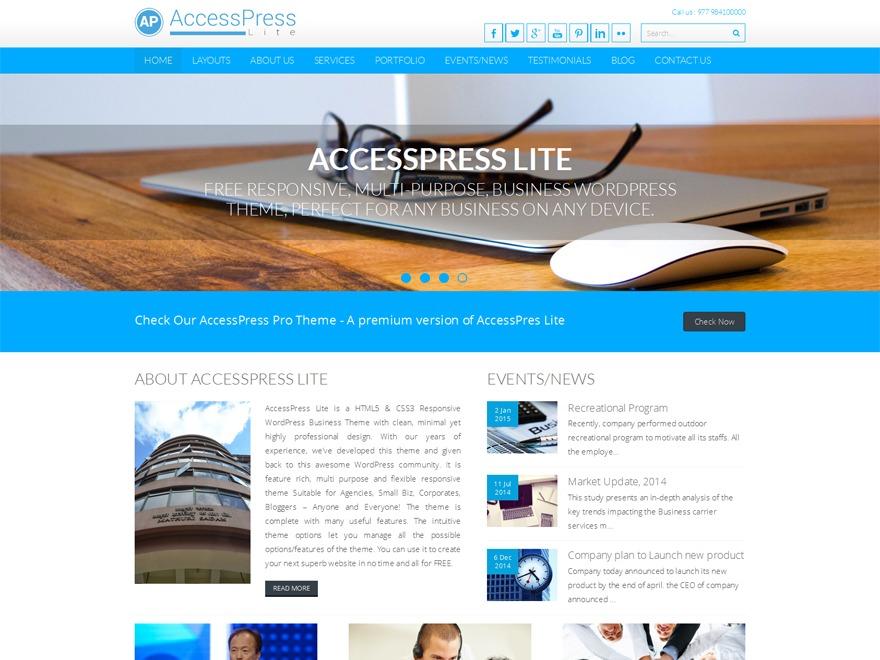 wpAccessPress Lite
